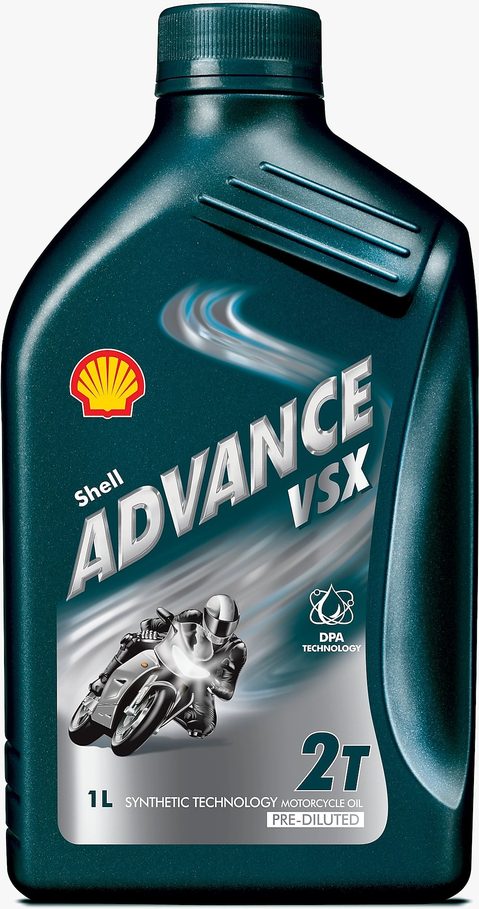 Flacone di Shell Advance VSX 2